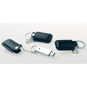 Free Sample, accept Paypal Leather USB Flash Memory