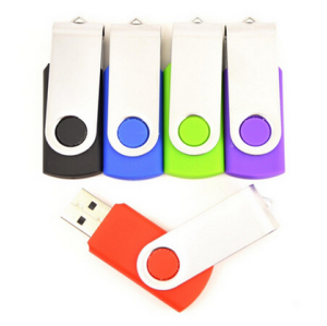 Swivel Memory Flash Drive