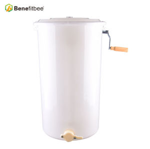 L'apiculture 2 Manuel d'armature en plastique blanc de miel extracteur pour les fournitures d'apiculture d'usine