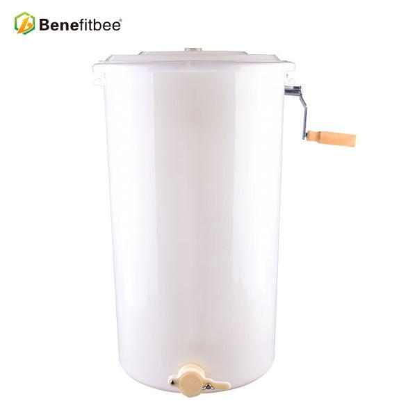 Apicultura Equitment 2 Frame Manual Extractor de miel de plástico blanco para suministros de apicultura de fábrica