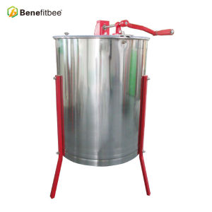4 Rahmen-Handbuch-Edelstahl-Honig-Extraktor für Honig-Prozess