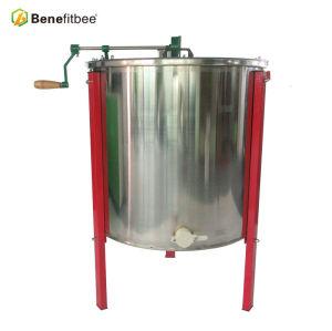 6 cadres manuellement l'extracteur de miel d'acier inoxydable pour l'agriculture Equitation d'apiculture