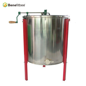 6 Frame manually Stainless Steel Honey Extractor For Agriculture beekeeping Equitment