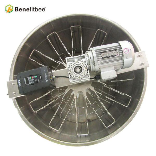 Fabricación OEM / ODM 12 marcos Extractor eléctrico de la abeja del acero inoxidable