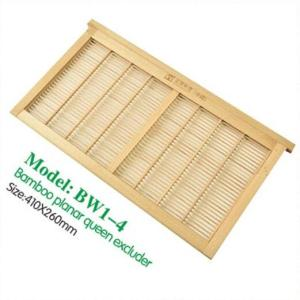 Bamboo Planar 16.14 * 10.24 pulgadas Bee Hive Queen Excluder for Beekeeping Equitment