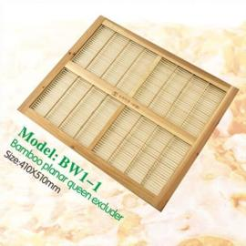 Neue Design Doppelgröße Bambus Planar Bee Hive Königin Excluder Für Bienenzucht Lieferungen