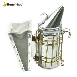 Beekeeping equipment bee hive smoker Stainless Steel Manual Beekeeping tools manufacturer Benefitbee