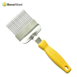 Imkerei Equitment 19 Pin 304 Edelstahl BeeKeeper Gebrauchte Kunststoffgriff Bee Gabel