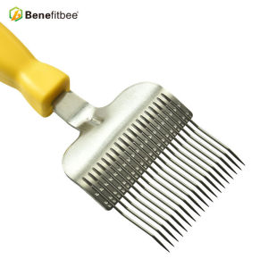Beekeeping Equitment 19 pin 304 Stainless Steel BeeKeepper Used Plastic Handle Bee Fork