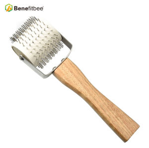 Agriculture Beekeeping Tools Idler Wheel Stainless Steel Uncapping Honey Fork For Beekeeper