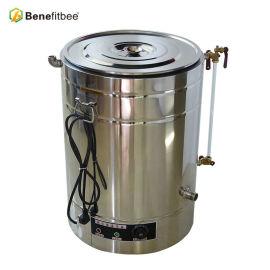 El volumen de funcionamiento 50kg modificó para requisitos particulares los tanques de la miel de Electirc del acero inoxidable 304 que se calentaban con la equidad de la apicultura