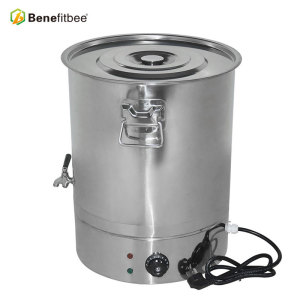 Beekeeping Equitment 70kg Effetive Volume Stainless Steel Electric Honey Tanks For Honey Process