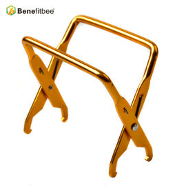 Imkerei-Equitement-Aluminiumbienenstock-Werkzeug-Metallgriff-kurzer Rahmen-Griff