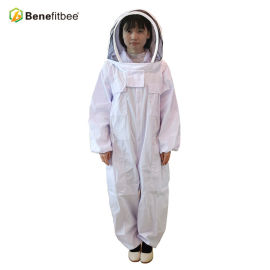 New Design Beekeeping Equitment White Dacron Bee Protective Suit For Beekeeper