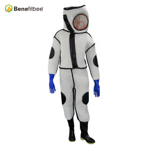New Design White Breathable PVC Inspissate Protective Suit Bee Clothes For Beekeeping Equitment