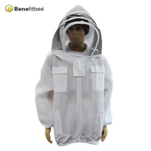 Beekeeper Use Protective PVC Gridding Cloth Jersey Bee Suit For Beekeeping Equitment