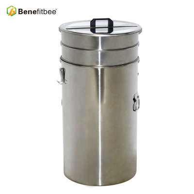 Пчеловодный инвентарь Двойной фильтр 70-дюймовый вес Нержавеющая сталь 201 Медовый танк