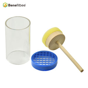 Professional Extra-large Beekeeping Tools Plastic Round Queen Bee Marking Bottle For Beekeeping Supplies