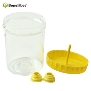 Wholesales Beekeeping Tools Round Yellow Plastic Wasp Catcher For Hornet Trap