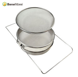 High Quality Two Separate Screen Stainless Steel Bee Strainer For Honey Processing