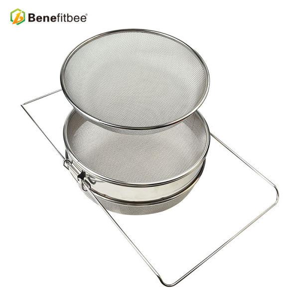 Filtro de abeja separado del acero inoxidable de la pantalla de dos capas de alta calidad para el proceso de la miel