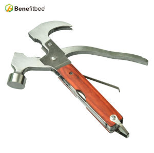 High Quality Beekeeping Tools Multi-Function Stainless Steel Claw Hammer Used By Beekeeper