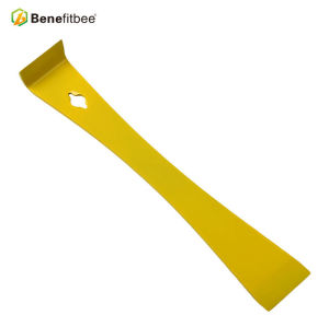 L'angle droit rallongent les outils de ruche de Muti-fonction d'acier inoxydable jaune pour des outils d'apiculture