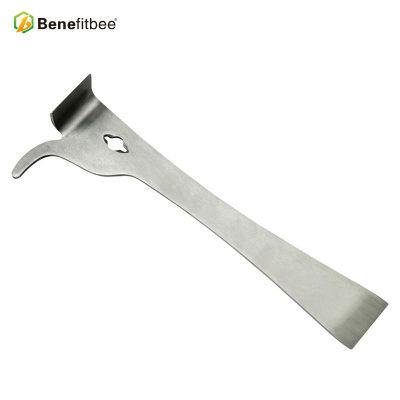 不锈钢弯头起刮刀加厚蜜蜂蜂箱巢框农用工具厂家直销