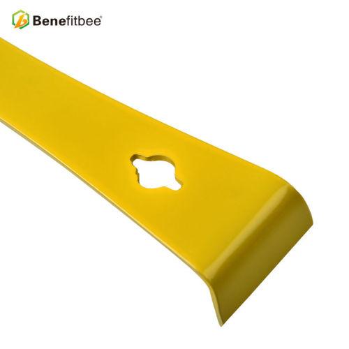 蜂具批发黄漆平口不锈钢起刮刀割蜜刀出口品质款厂家直销
