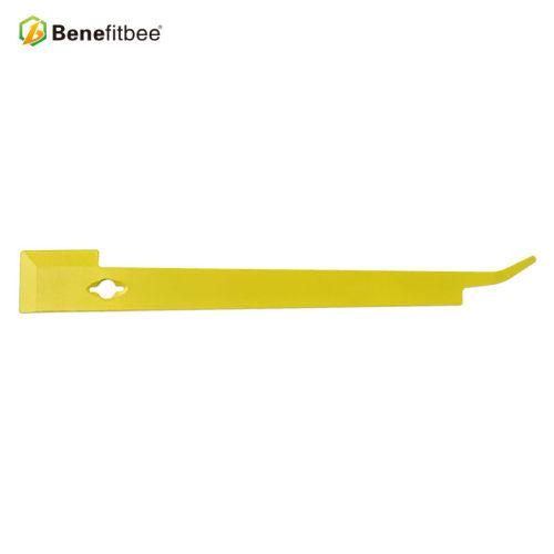 养蜂工具不锈钢黄色起刮刀批发蜂巢工具定制