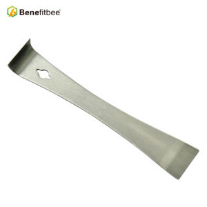 Russia Beekeeping Tools Muti-Function Metal Color Curved Edge Stainless Steel Knifes Hive Tools