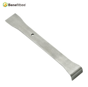 High Quality Metal 7.40inch Stainless Steel Curved Edge Knifes For China Beekeeping Supplies