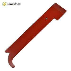 Outils d'apiculture antirouille peinture rouge 9.25 pouces en acier inoxydable angle droit couteaux de bord Outils HIve