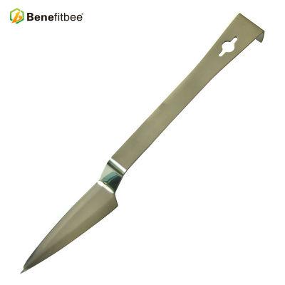亮光剑牙铲起刮刀养蜂工具蜂具蜂箱巢框不锈钢起脾刀出口品质批发