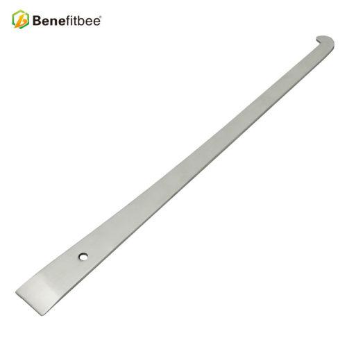 养蜂工具刀具不锈铁亮光倒钩起刮刀出口品质批发