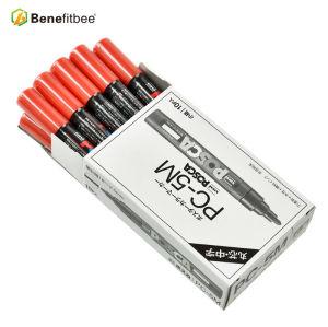 养蜂工具日本三菱头蜂王标记笔 养蜂标识笔马克笔多种颜色