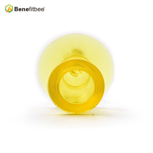 大号黄色塑料育王台 育王蜜蜂养蜂工具