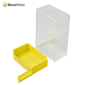 Wholesale Benefitbee Beekeeping Equitment Transpents Acrylic Cube Bee Feeders