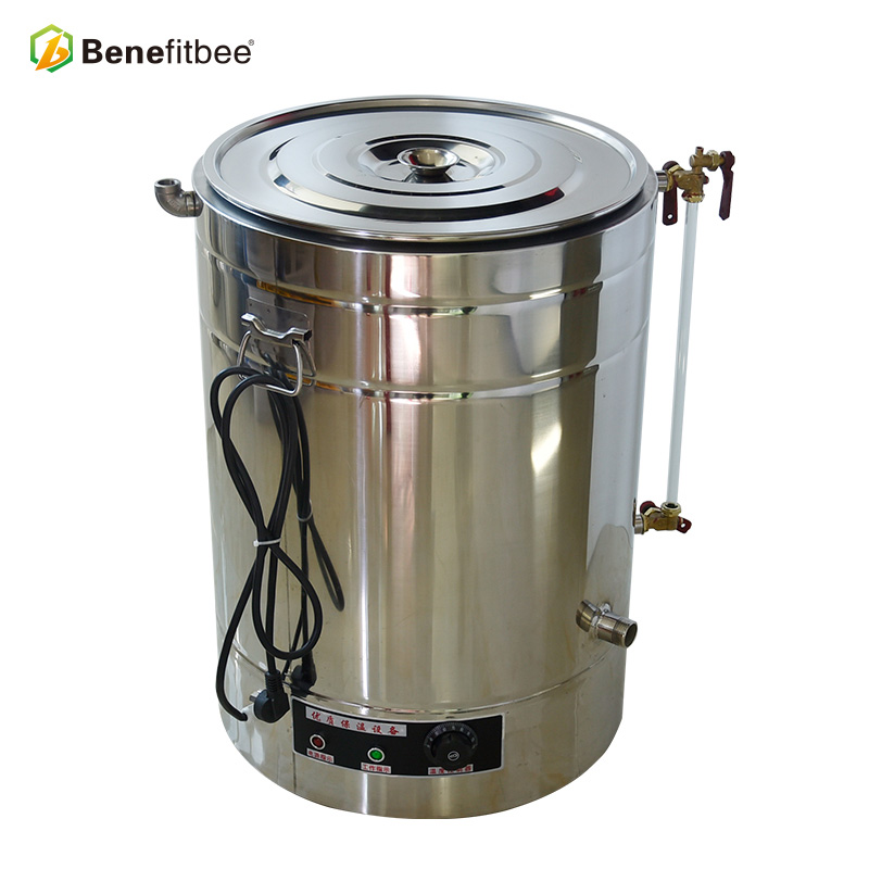 High Quality Beekeeping Equitment 50kg Unit Weight Stainless Steel  Decrystalization Honey Tank