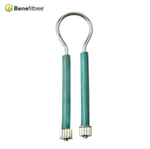 Wholesales Beekeeping Tools Plastic Handle Stainless Steel Bee Frame Tensioner For Beekeeping Suppiles