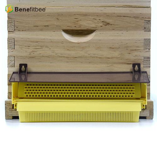 蜜蜂花粉脱粉器新型蜂具 塑料粉盒定制款养蜂工具
