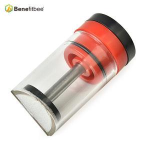 厂家直销旋转螺杆蜂王标记瓶育王标记瓶批发蜜蜂养蜂蜂具