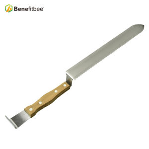 Wholesales Muti-Fuction Z-Shape Double Blade Plastic Handle Uncapping Honey Knife
