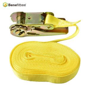 Haute qualité sans crochets Benefitbee Apiculture Equitation 196.85 pouces Nylon Beehive Strap
