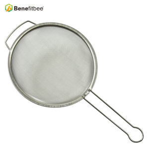 Portable Honey Processing SS304 Handle Double Filter Screen For Beekeeping Tools