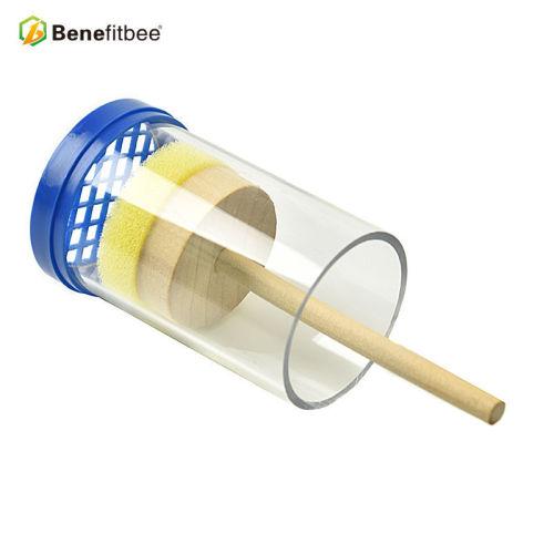 加大型蜂王标记瓶 蜂王笼育王台标识瓶 育王透明瓶益蜂蜂具批发