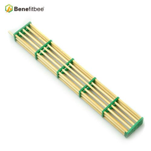 蜜蜂多功能囚王笼 囚蜂五节竹制王笼 加长竹丝隔王控制器