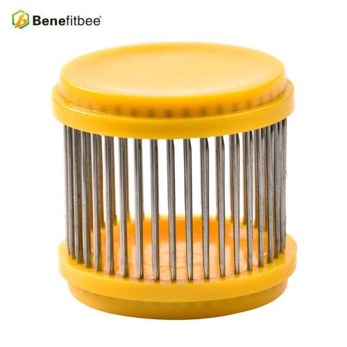 养蜂工具蜂具出口针式王笼 蜂王扣王器防跑器中蜂意蜂通用