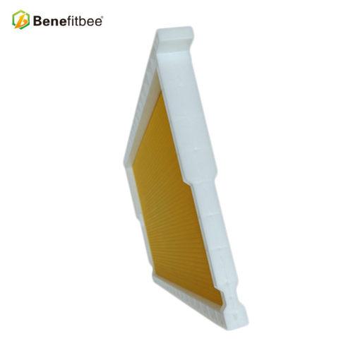 养蜂工具蜜蜂出口塑料巢础批发