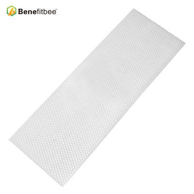 厂家直销养蜂工具 15.75 *5.75英寸薄白PP蜂巢配件批发